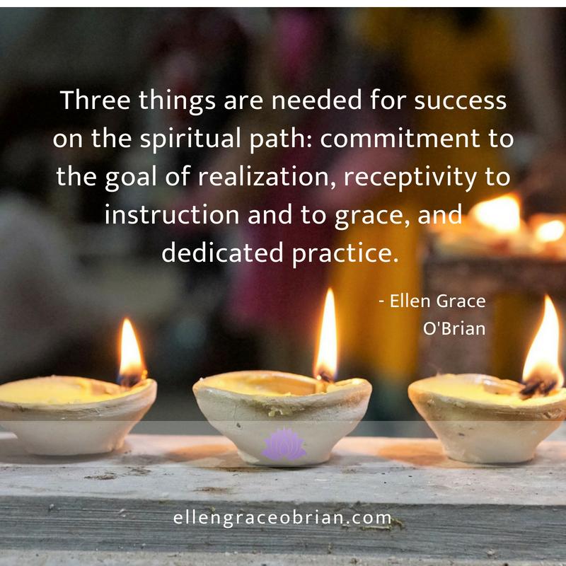 be steadfast in kriya yoga